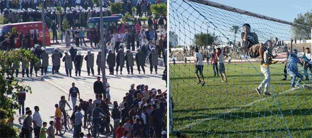 Le hooliganisme frappe à Tanger