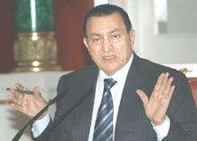 Égypte : Moubarak par défaut