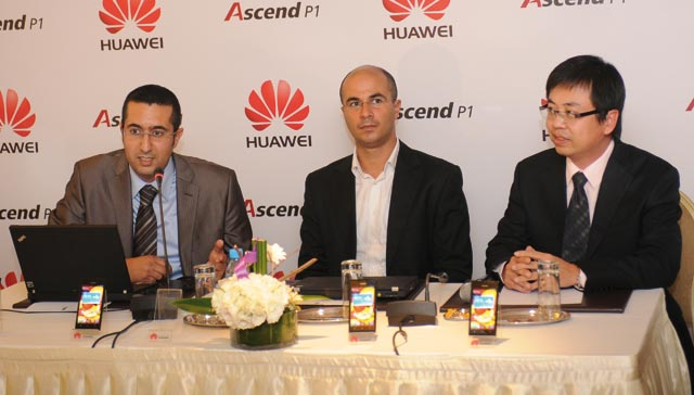 Huawei Ascend P1, fin, léger, efficace