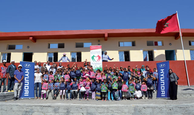 Hyundai Maroc : Une nouvelle école pour la rentrée
