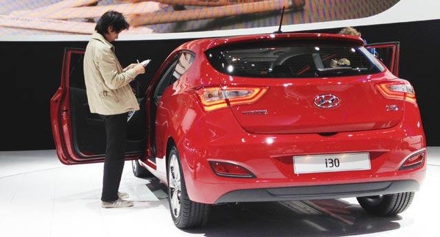 Hyundai : Un programme riche
