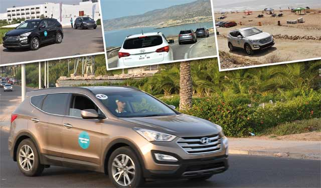 Hyundai Santa Fe : L «Experience Hyundai» au Sud du Maroc