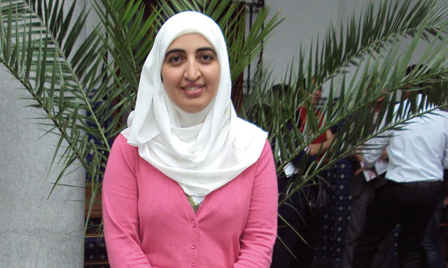 Ibtissam Sebbahi : Nous souhaitons pouvoir organiser un mariage collectif