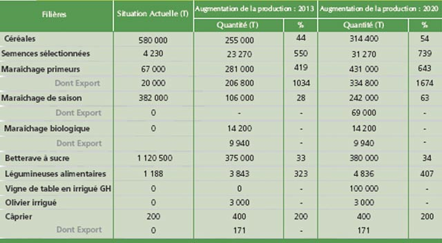 Plan Maroc Vert : Un programme taillé sur mesure pour Doukkala-Abda