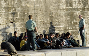Plus de 5.400 immigrants clandestins interceptés en 2008