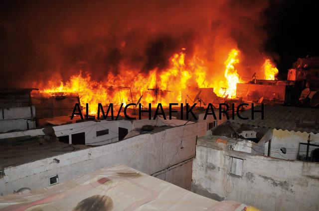 Cinq personnes décédées dans un incendie dans un garage à Casablanca