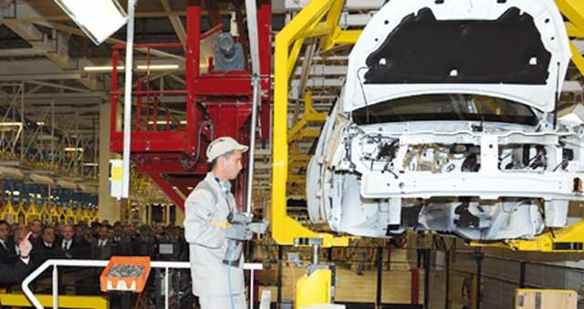 28.000 emplois perdus dans l'industrie