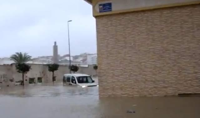Tanger  lutte contre les inondations