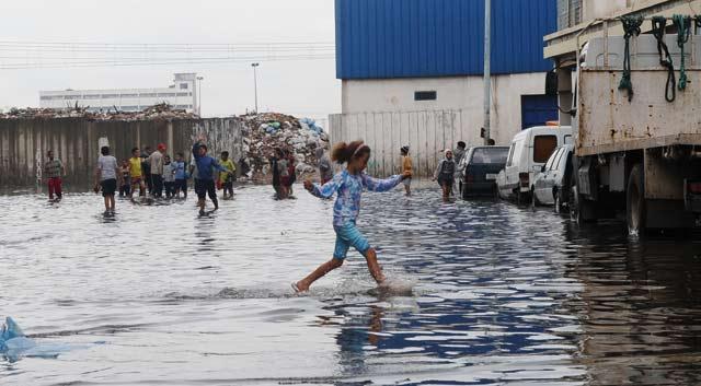 Nos infrastructures  mises à nu par les premières pluies