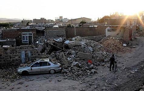 Séismes en Iran: 250 morts et 1.500 blessés (nouveau bilan)