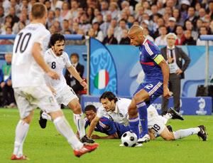 Euro 2008 : Les champions du monde qualifiés