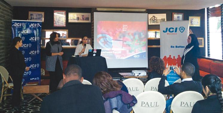 Entrepreneuriat: Un forum entre le Maroc et la Tunisie à l'initiative de la JCI