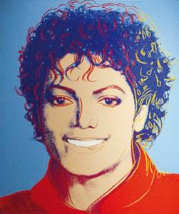 Un portrait de Michael Jackson par Warhol atteint 812.500 dollars