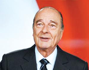 Jacques Chirac fait ses adieux