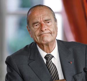 Jacques Chirac, la critique de l'absent