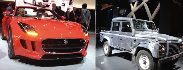 Jaguar et Land Rover : Les anglais frappent fort