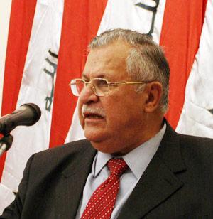 Un kurde à la tête de l'Etat irakien
