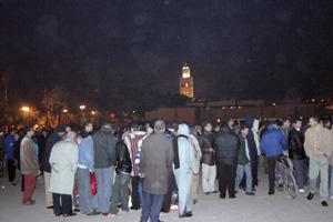 Marrakech,la ville-spectacle