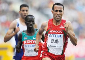 Berlin : Jamal Chatbi écarté pour cause de dopage