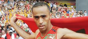 Jaouad Gharib hisse le drapeau marocain à New York