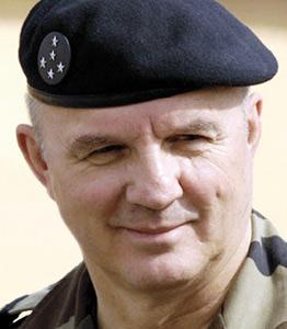 Le chef d'état-major des forces armées françaises en Mauritanie