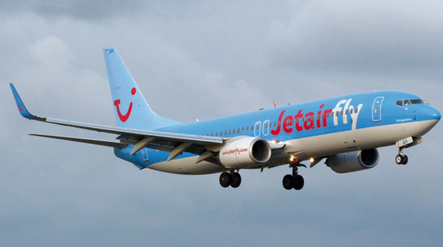 Boeing collabore avec Jetairfly