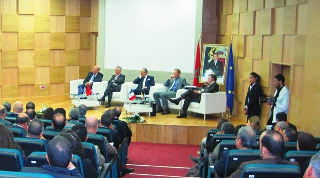 Jumelage institutionnel entre l OFPPT et l UE : Un projet, deux institutions  et trois axes