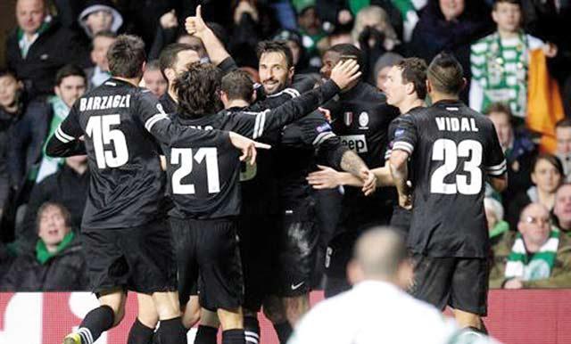 Ligue des  champions : La Juve s impose à l italienne au Celtic