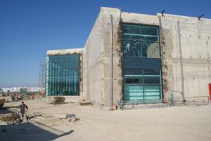Kitea géant Tanger en cours de finition