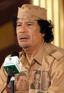 Kadhafi s'en prend au Roi Abdallah d'Arabie Saoudite
