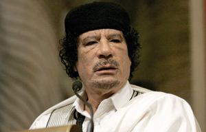 Libye : Kadhafi met 90 milliards de dollars à la disposition de l'Afrique