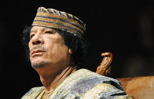Libye-Suisse : une affiche associant Kadhafi à un criminel