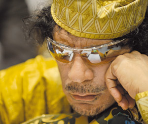Libye : Le colonel  Kadhafi court toujours