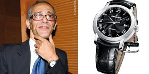 Montre de leader : Kamal Jabry : «Je suis un mordu de montres»