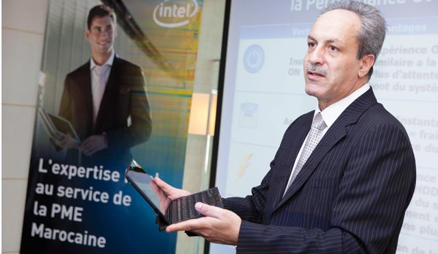 Intel trace le futur de l informatique  au sein de l entreprise