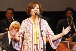 Karima Skalli s'est produite au Festival «La femme chante encore»