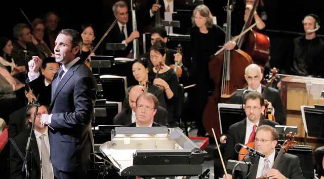 Concert de l Orchestre de Pau Pays à Rabat