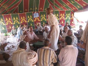 Kasbat Tadla : La «Jedba» en hommage à la baraka des ancêtres de Béni Chagdal