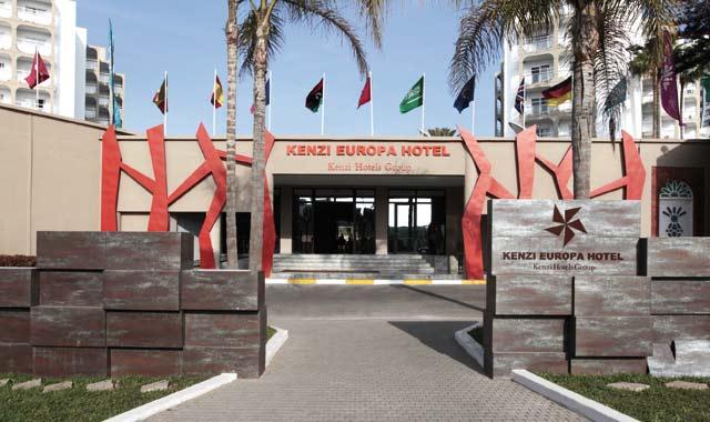 Lifting réussi pour le Kenzi Europa  hôtel d Agadir