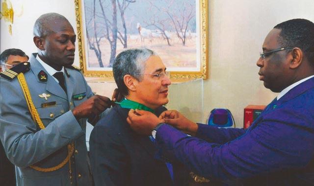 Mohamed El Kettani, «Commandeur de l ordre du mérite» sénégalais