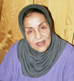 Khadija Jamal dans la peau de «Moui Rahma»