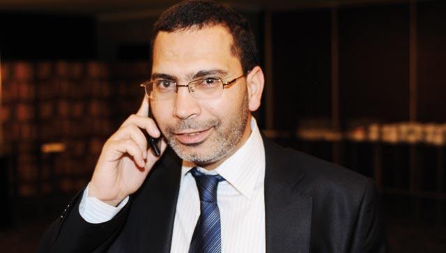 Mustapha El Khalfi  à l inauguration  de la nouvelle année  académique de l ISIC