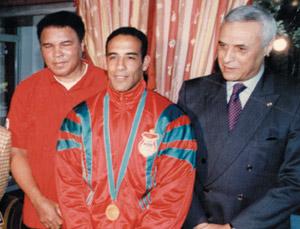 Portrait : Khalid Saber, un accro de la gymnastique