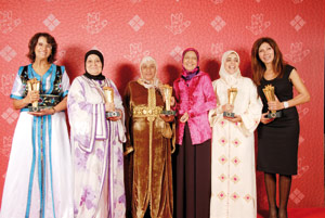 Khmissa Lesieur consacre les cinq femmes de l'année