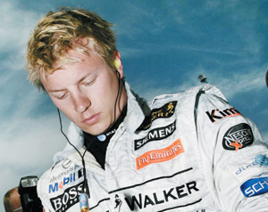 GP de F1 : victoire de Raikkonen