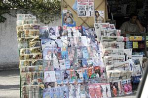 La crise économique menace le secteur de la presse écrite