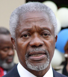 Annan appelle à des négociations