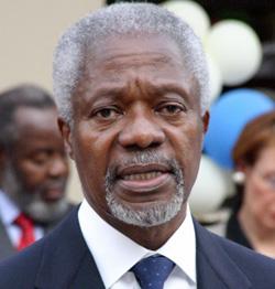 Le chant de cygne de Kofi Annan