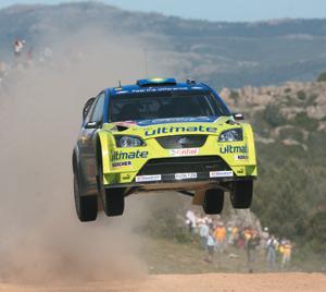 Ford Focus : En tête du championnat WRC