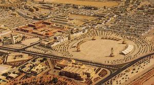La principale avenue de Laâyoune «Route de Smara» en chantier